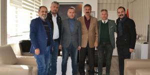Basın Mensuplarından Başkan Çatma'ya Ziyaret