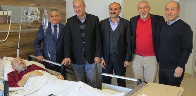 Cemiyet'ten Örgel'e 'Geçmiş Olsun' Ziyareti