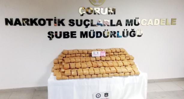 15 Milyonluk Uyuşturucu Yakalandı
