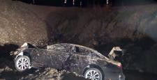 Belediye Başkan A.Adayı Kaza Yaptı