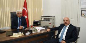 Başkan Gül'den Muhtarlara Ziyaret