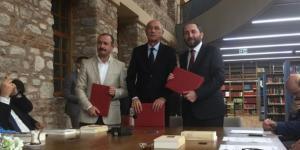 """HİTÜ, """"Fuat Sezgin Yılı"""" Protokolü İmzaladı"""
