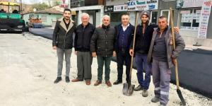 Karabacak'ta, Belediyeye Teşekkür