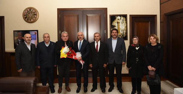 Şehit Aileleri Derneğinden Başkan Gül'e Ziyaret