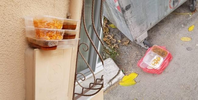 Dağıtılan Yemekler Çöpe Atılıyor