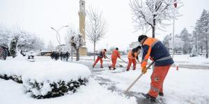 Belediye 24 Saat Çalıştı