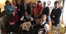 Engelliler Ankara'da Kermese Katıldı