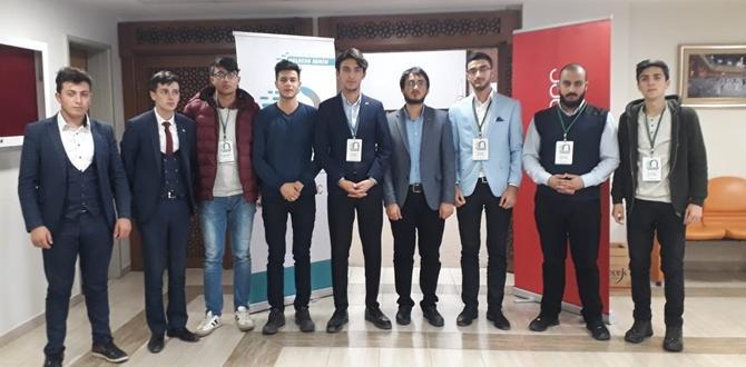ÇORİMDER'li Gençler Ankara'da Çalıştaya Katıldı