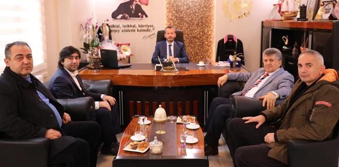 CHP'den Baroya Ziyaret