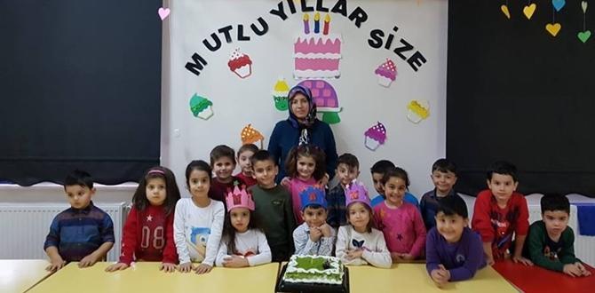 487 Öğrencinin Doğum Günü Kutlandı