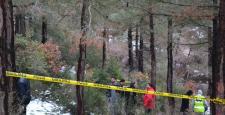 Ormanlık Arazide Erkek Cesedi Bulundu