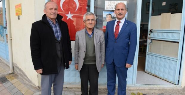 Yabacıoğlu, İskilip'te Muhtarları Gezdi