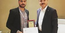 Yaşar'a Dede Korkut Genç Araştırmacı Ödülü