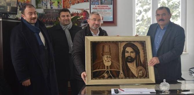 Aşgın, Hacı Bektaş Vakfı'nı Ziyaret Etti