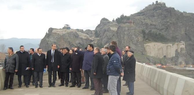 Kaya, Osmancık'ta Yatırımları İnceledi