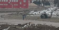 Askeri Helikopter Çorum'da Zorunlu İniş Yaptı