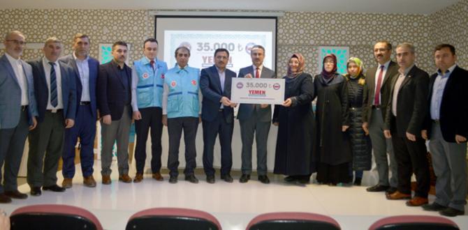 Diyanet-Sen'li Kadınlardan Yemen'e Yardım
