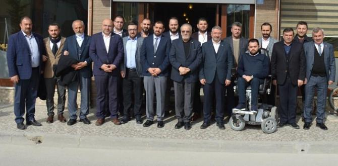 Uslu ve Aşgın'dan MÜSİAD'a Ziyaret