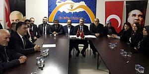 AK Parti Kargı'ya Çıkarma Yaptı