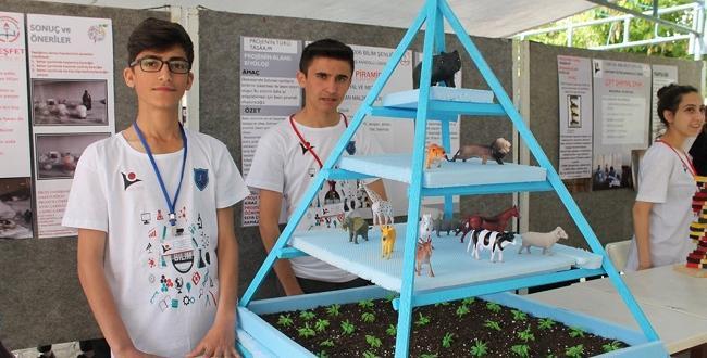 Proje Yarışmalarına Katıldılar