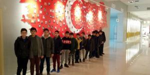 İzciler, 15 Temmuz Müzesi'ni Gezdi