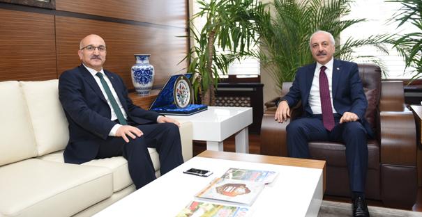 Büyük'ten, Başkan Gül'e Veda Ziyareti