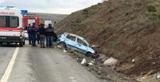 Otomobil Devrildi: 2'si Ağır 3 Yaralı