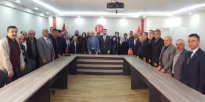 Meclis Adayları ile Toplantı Yaptı