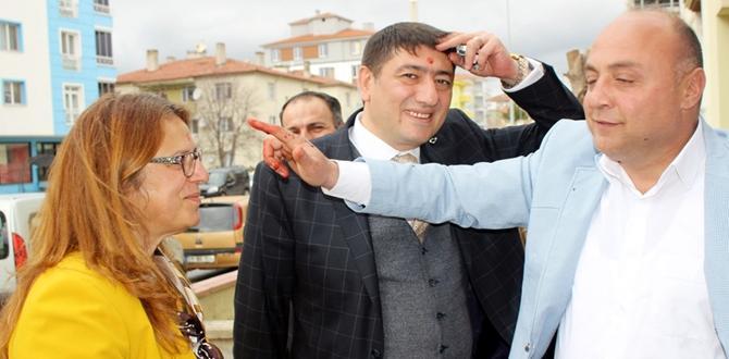 CHP Adayı Özgür Kılıç İçin Kurban Kesti