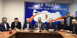 AK Parti, Osmancık'a Çıkarma Yaptı