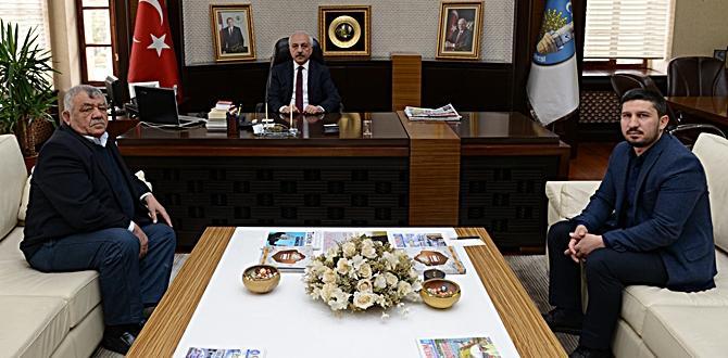 Hüseyin Teke'den Başkan Gül'e Ziyaret