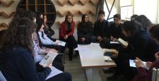 """İnönü Anadolu Lisesi'nde """"Çorum Okuyor """" Etkinliği"""