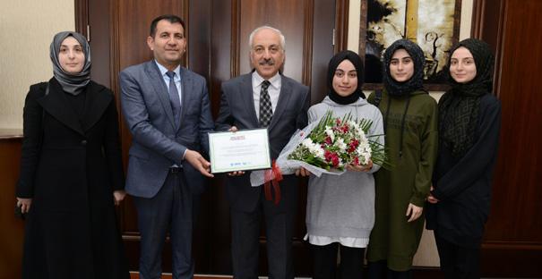 Alaca İHL'den, Başkan Gül'e Teşekkür