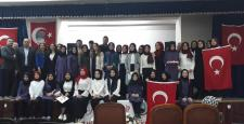 İstiklal Marşının 98. Yılını Kutlandılar