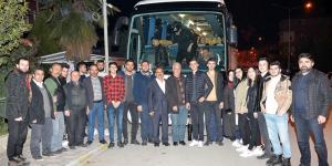 Üniversite Öğrencilerini Çanakkale'ye Gönderdi