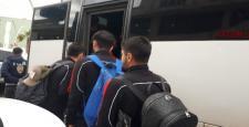 Çorumspor Stada Polis Araçlarıyla Gitti