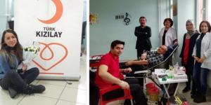 Mehmetçik Lisesi'nden Kan Bağışına Destek