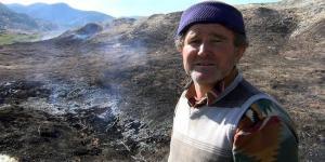 Maden Sahasında Yangın Çıktı