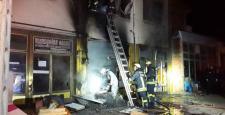 İşyerinde Çıkan Yangın Panik Yarattı