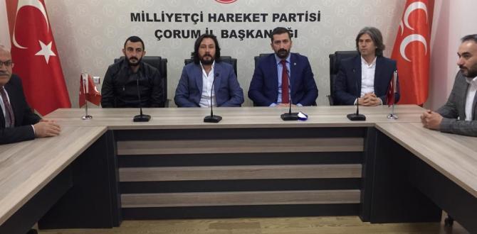Çorumspor Yönetiminden Siyasi Partilere Ziyaret