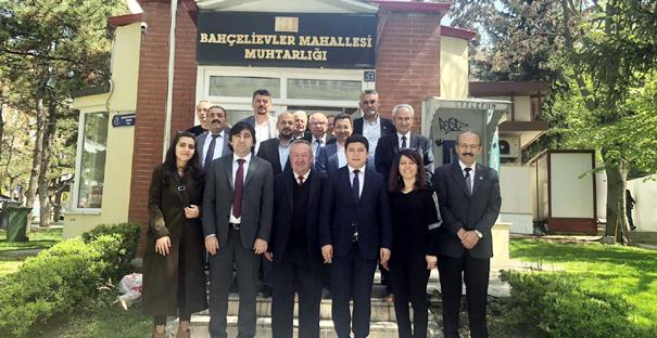 CHP, Muhtarları Kutladı