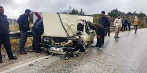 Çorum'da Zincirleme Kaza : 3 Yaralı