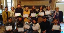 Mehmetçik Anadolu Lisesi İtalya'da
