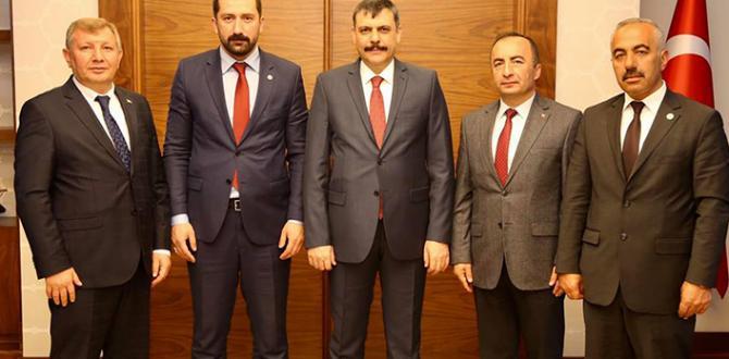 MHP'li Başkanlardan Vali Çiftçi'ye Ziyaret
