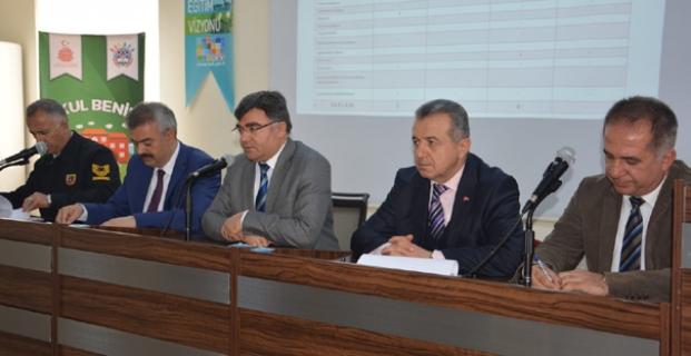 Okul Güvenliği Nisan Ayı Toplantısı Yapıldı