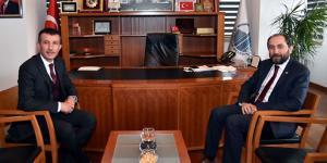 Rektör Alkan'dan Balcı'ya Tebrik