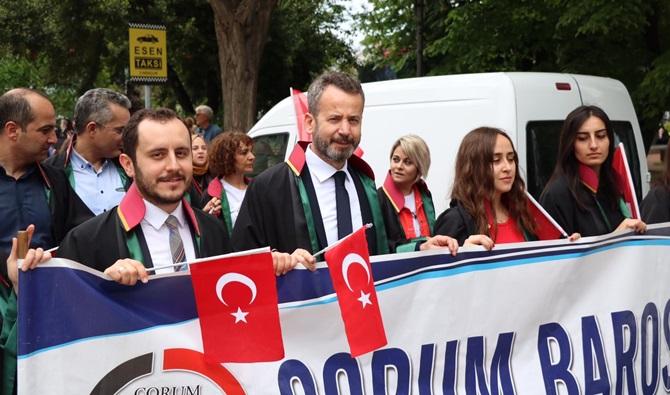 Çorum Barosu 19 Mayıs'ta Samsun'da
