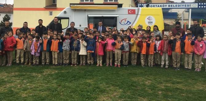 Ortaköy PTT Öğrencileri Sevindirdi