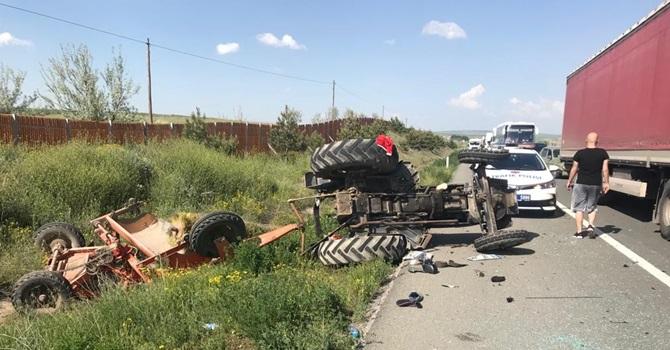 Çorum'a Gelirken Kaza Yaptılar : 7 Yaralı