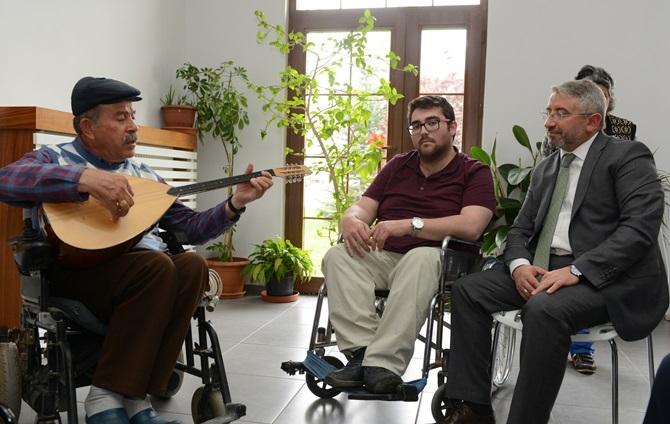 Engelli STK'lardan Başkan Aşgın'a Ziyaret